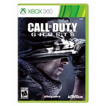 Call Of Duty Ghost Xbox360 Mídia Física Lacrado Em Português