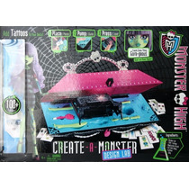 Monster High Laboratorio Para Crear Monstruos Con Tattos