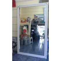 Espelho Grande 200x100cm C/moldura- Entrega Só Na Gd S Paulo