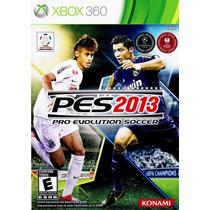 Jogo Pes 2013 Xbox 360 Mídia Física Pro Evolution Soccer
