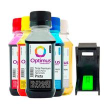Kit Tinta Canon Mp190 | Mp160 400ml + Snap + Fluído Limpeza
