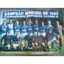 Poster Do Cruzeiro 1994 - Ronaldo, Cerezo, Luizinho, Dida,
