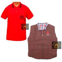 Conjunto Country Colete E Camisa Polo Mangalarga Marchador