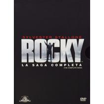 Rocky La Saga Completa The Complete Saga Pelicula En Dvd