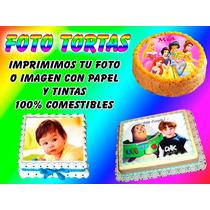 Laminas Comestibles Para Foto Tortas