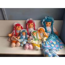 Muñecas De Trapo 78cmx55cm Niñas Hechas A Mano Peluches