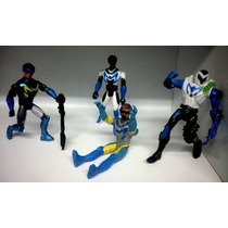 Kit Max Steel Turbo Com 4 Bonecos - Pronta Entrega