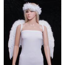 Fashionwings (tm), White Wings Traje De Plumas Y Jóvenes Ad