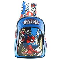 Mochila Spiderman Hombre Araña 16 Pulgadas 11142 Original!!