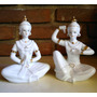 Figuras Diosas Hindues - X 2 De Porcelana China