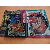 Zero Kamikaze Squirrel + Encarte Mega Drive
