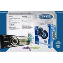 Paquete Jensen Autoestereo Y Bocinas 6.5 Dvd Usb Bluetooth