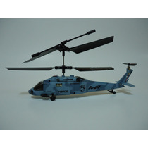 Helicoptero Skytech Rc 3.5 Canales Gyro Militar