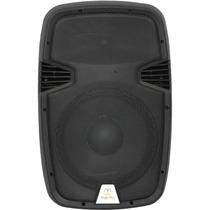 Caixa De Som Portátil Ativa 15p Bateria+usb+sd+02 Microfones
