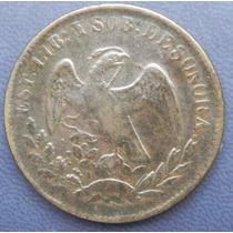 Moneda 1/4 De Real Sonora 1861 Alta Condicion