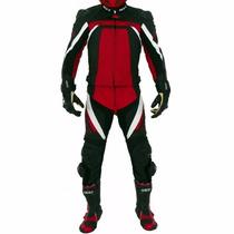 Macacão Texx Spirit 2 Peças Vermelho Moto Esportivo Racing