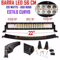 Barra Led 120w De 22