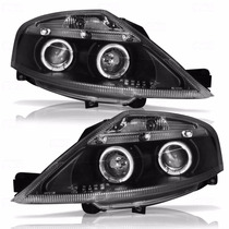 Par De Farol Projector Angel Eyes Led Citroen C3 03/12