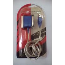Cable Convertidor Usb A Paralelo