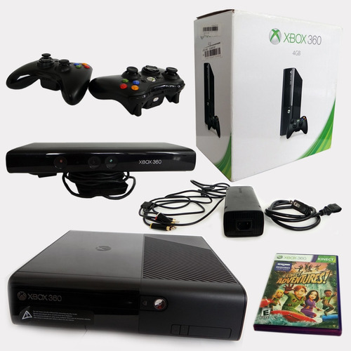 Xbox 360 Kinect 2 Controles Inalambricos Y Juegos 550 000 En