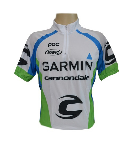 Camisa Ciclista Pro Tamanho Gg Garmin Cannondale - R  74 7a05da16731