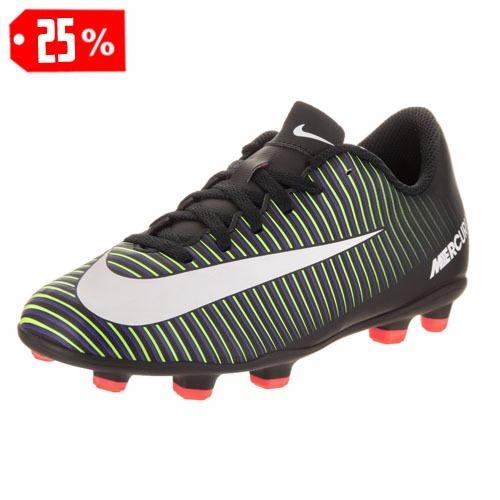 2b808642ac00e Oferta Taquetes Futbol Nike Mercurial Fg Jr 2033 Nuevos Sh+ -   770.00 en  Mercado Libre