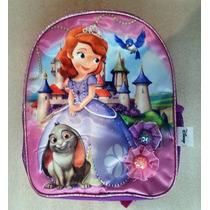 Princesa Sofia Disney Bolso Morral Saten Pequeno Escolar Ori