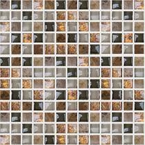 Mosaicos Decorativos Cristal 8mm Cenefas Para Baños Castel