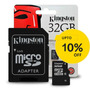 Memoria Kingston Micro Sd Hc 32gb Clase 10 Full Hd Original