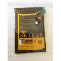 Bateria Moto E Xt1022 Motorola Original El40 3,8v Lithium