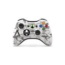 Controle Xbox 360 Sem Fio Chrome Series Especial Camuflado