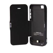 Carcasa/cargador Con Tapa Para Iphone 5, 5s, 5c 4200 Mah