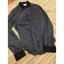Camisa Zara Para Caballero Talla M Talla 38 Slim Fit