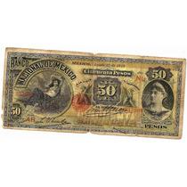 Billete De 50 Pesos Banco Nac. De Mexico