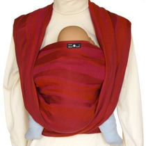 Didymos Baby Carrier Waves Red, Size 5 (discontinued By Man