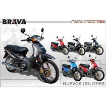Moto 110 Brava Nevada Con Disco Motos 110 Financiadas