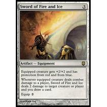 Espada De Fogo E Gelo / Sword Of Fire And Ice - Darksteel