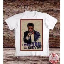 Camiseta Clube Da Luta - Fight Club Taylor Dudley - Brad Pit