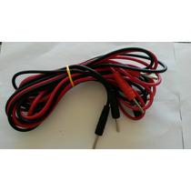 Cable Para Electroestimulador Interferenciales Jackpin