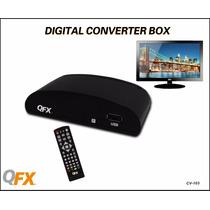 Convertidor Qfx Qv-103 De Tv Análoga A Digital Canales Hd