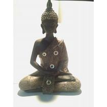 Figura Buda Felicidad Zen Feng Shui Suerte 20cm (671)