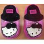 Hello Kitty Pantuflas Para Niñas 100% Original