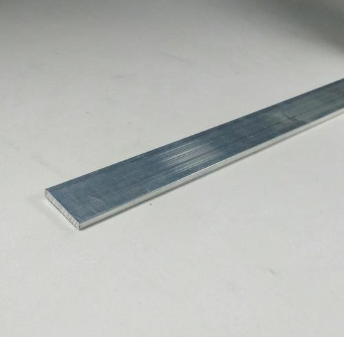Barra chata aluminio 3 4 x 1 8 1 9cm x 3 17mm c 99cm - Barras de aluminio huecas ...