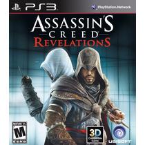 Assassins Creed Revelations Ps3 - Mídia Digital