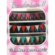 Banderines Friselina - Cumpleaños - Bautismos - Decoracion