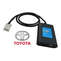 Adaptador Usb Toyota Corolla Hilux Interface Cabo Pen Drive