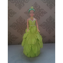 Boneca Princesa Em Eva