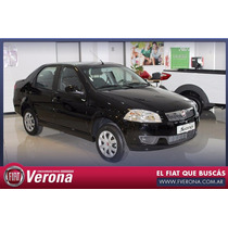 Fiat Nuevo Siena El 1.4 0 Km Negro