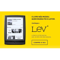 Lev - Leitor Digital De Livros - Sem Luz