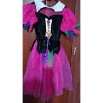 Disfraz Nena 6-8 Bruja,aldeana,etc